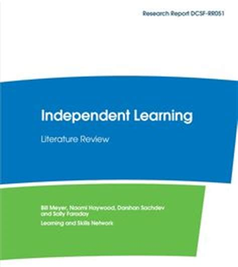 Learning environment literature review